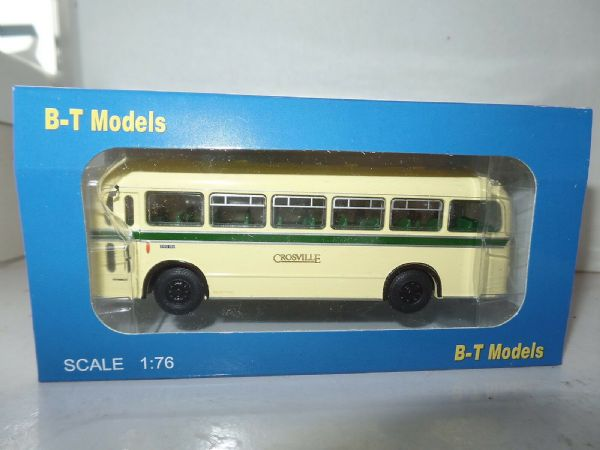 B T Models B208A Bristol MW Single Deck Bus Crosville Cream Green Line Pwllheli